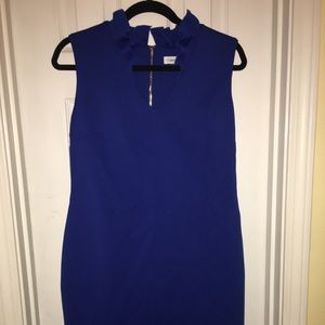 Size 12 Calvin Klein blue cocktail dress